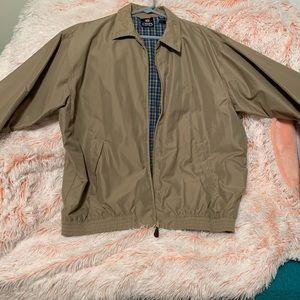 Men's Khaki Chaps Jacket